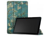 Husa Tableta TPU Tech-Protect SmartCase Sakura pentru Samsung Galaxy Tab A 10.1 (2019), Multicolor, Bulk