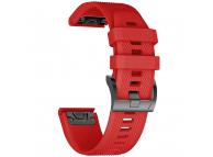 Curea TPU Tech-Protect SMOOTH, pentru GARMIN FENIX 5/6/6 PRO, Rosie, Blister