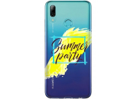 Husa TPU OEM SUMMER PARTY pentru Huawei P Smart (2019), Multicolor, Bulk