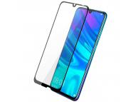 Folie Protectie Ecran OEM pentru Huawei P Smart (2019), Sticla securizata, Full Face, Full Glue, 9D, Neagra, Blister