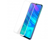 Folie Protectie Ecran OEM pentru Huawei P Smart (2019), Sticla securizata, Full Face, Full Glue, 5D, Alba, Blister