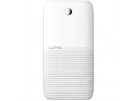 Baterie Externa Powerbank Ldnio PR1009 + cablu MicroUSB, 10000 mA, 2 x USB, Alba - Gri, Blister