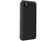 Baterie Externa Powerbank Borofone Intelligent BT22, cu afisaj LED, 10000 mA, 2 x USB, Neagra, Blister