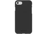 Husa TPU Goospery Mercury Soft Feeling pentru Apple iPhone 11, Neagra, Blister