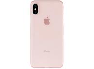 Husa Plastic Goospery Mercury Ultra Skin pentru Apple iPhone 11, Roz Aurie, Blister