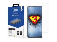Folie Protectie Ecran 3MK pentru Samsung Galaxy A51 A515, Sticla securizata, Full Face, Full Glue, Neagra