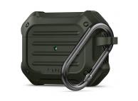 Husa Spigen Rugged Armor pentru Apple Airpods Pro, Verde, Blister