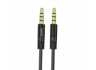 Cablu Audio 3.5 mm la 3.5 mm Dudao L12, 170 cm, Negru, Blister