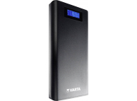Baterie Externa Powerbank Varta LCD Power, 13000 mA, 2 x USB, Afisaj Led, Neagra, Blister