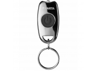 Mini Lanterna LED Varta Key Chain, Cu Breloc, Argintie, Blister