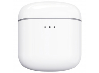 Handsfree Casti Bluetooth Remax TWS-7, cu suport incarcare, SinglePoint, Alb, Blister