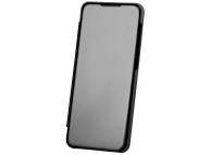 Husa Plastic OEM Clear View pentru Samsung Galaxy S20 G980, Neagra, Blister