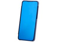 Husa Plastic OEM Clear View pentru Samsung Galaxy A51, Albastra, Blister