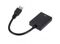 Adaptor Audio si Video USB la HDMI OEM, Negru, Bulk