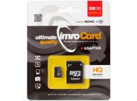 Card Memorie MicroSDHC Imro, 32Gb, Clasa 10, UHS-3, Blister