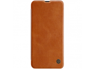Husa Piele Nillkin Qin Book pentru Samsung Galaxy A30s / Samsung Galaxy A50s, Maro, Blister