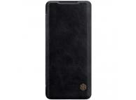 Husa Piele Nillkin Qin Book pentru Samsung Galaxy S20 Plus G985, Neagra, Blister