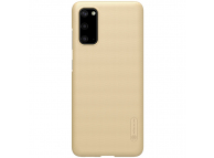 Husa Plastic Nillkin Super Frosted pentru Samsung Galaxy S20 G980, Aurie, Blister