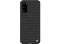 Husa TPU Nillkin Textured Hard pentru Samsung Galaxy S20 G980 / Samsung Galaxy S20 5G G981, Neagra