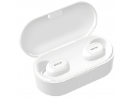 Handsfree Casca Bluetooth QCY T1S (T2C) TWS, SinglePoint, Alb, Blister