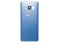 Capac Baterie - Geam Camera Spate Albastru Samsung Galaxy S8 G950