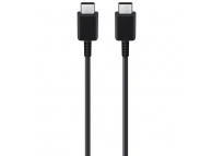 Cablu Date si Incarcare USB Type-C la USB Type-C Samsung EP-DN970BBE, 1 m, Negru, GH39-02031A, Bulk