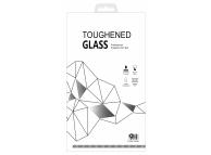 Folie Protectie Ecran Blueline pentru Samsung Galaxy A01, Sticla securizata, Full Face, Full Glue, Neagra, Blister