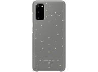 Husa Samsung Galaxy S20 G980 / Samsung Galaxy S20 5G G981, LED Cover, Gri, Blister EF-KG980CJEGEU