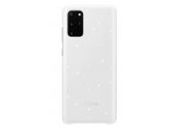Husa Samsung Galaxy S20 Plus G985 / Samsung Galaxy S20 Plus 5G G986, LED Cover, Alba EF-KG985CWEGEU