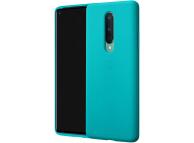 Husa Plastic OnePlus 8, Sandstone Bumper, Bleu, Blister 5431100138