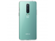 Husa Silicon OnePlus 8, Clear, Transparenta, Blister 5431100148