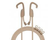 Coarda elastica Multifunctionala Baseus ACTLS-0Y, cu suport umeras, 1.5 m, Maro, Blister