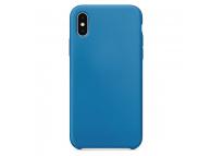 Husa TPU OEM Pure Silicone pentru Apple iPhone 11 Pro Max, Albastra, Blister