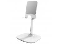 Suport birou Universal OEM pentru telefon / tableta, B026, Alb, Blister