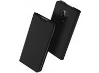 Husa Piele DUX DUCIS SKIN PRO pentru Xiaomi Redmi Note 9S / Xiaomi Redmi Note 9 Pro / Xiaomi Redmi Note 9 Pro Max, Neagra, Blister