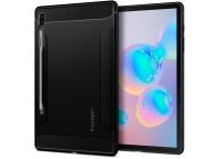Husa TPU Spigen RUGGED ARMOR pentru Samsung Galaxy Tab S6, Neagra, Blister ACS00220