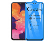 Folie Protectie Ecran OEM pentru Samsung Galaxy A10 A105 / Samsung Galaxy M10, Plastic, Full Cover, Full Glue, 2.5D, Blister