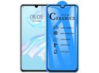 Folie Protectie Ecran OEM pentru Huawei P30 lite, Plastic, Full Cover, Full Glue, 2.5D, Blister