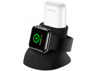 Suport Dedicat Usams  ZJ051 pentru Apple Watch / Apple AirPods, Gri, Blister