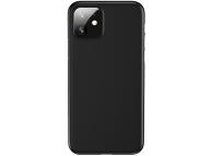 Husa TPU Usams Gentle pentru Apple iPhone 11, Neagra, Blister IP11RQR02