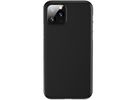 Husa TPU Usams Gentle pentru Apple iPhone 11 Pro, US-BH539, Neagra, Blister IP11QR02