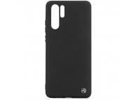 Husa TPU Tellur Matt Silicone pentru Huawei P30 Pro, Neagra, Blister TLL121835