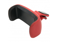 Suport Auto Universal Tellur pentru Telefon, Air Vent, Rosu, Blister TLL171011
