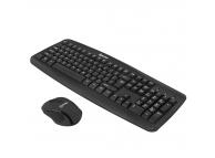 Kit tastatura si mouse wireless Tellur Basic, Negru TLL491051