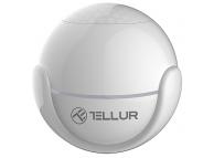 Senzor de miscare Tellur Smart Motion, WiFi, PIR, Alb, Blister TLL331121