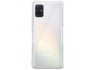 Husa TPU Nillkin Nature pentru Samsung Galaxy A51, Gri, Blister
