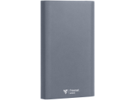 Baterie Externa Powerbank FreeNet 12000 mA, 2 x USB, Gri, Blister