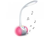 Lampa LED cu difuzor Bluetooth Forever RGB, BS-760 Alba Blister