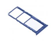 Suport Card - Suport SIM 1 / 2 Albastru Samsung Galaxy A51 A515 Dual SIM