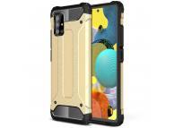 Husa Plastic - TPU OEM Tough Armor pentru Samsung Galaxy A51, Aurie, Bulk